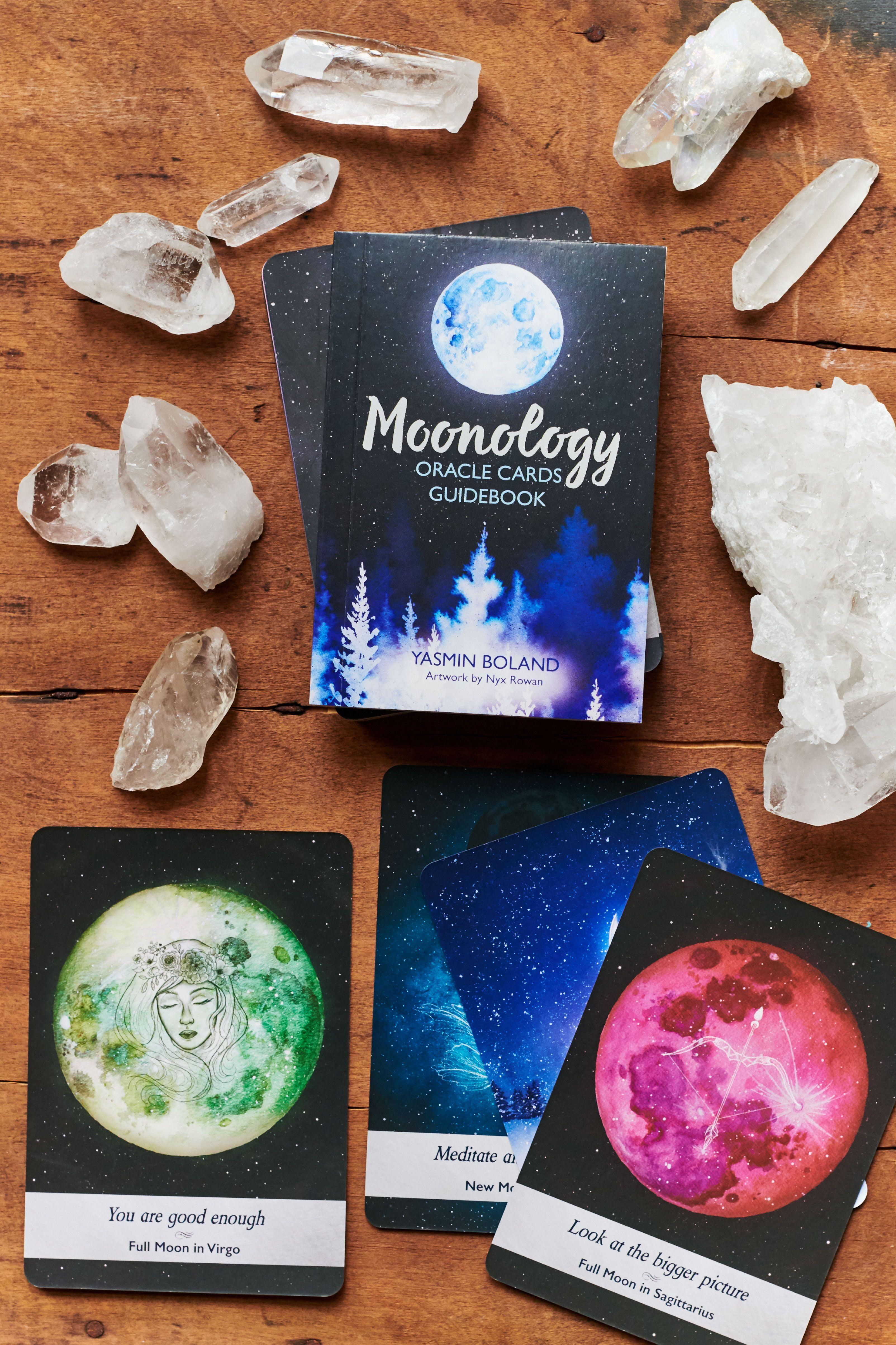 Moonology oracle cards tarot cards decks beautiful