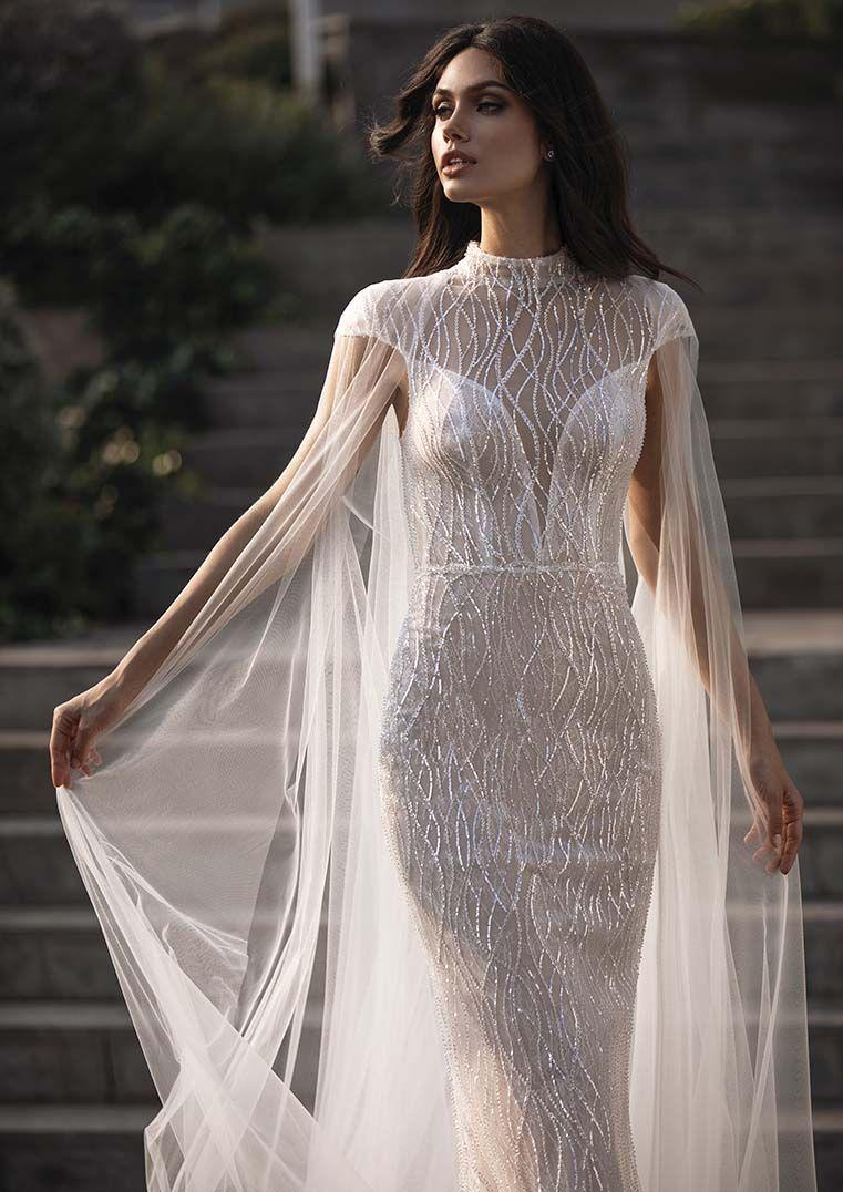 Pronovias Goddess - IRENE - Betti B.  Brautmode, Illusion kleid