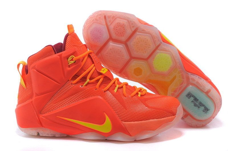 nike air max mirabella wh omble - Cheap Nike LeBron 12 Cleveland Cavaliers Yellow Red Brown ...