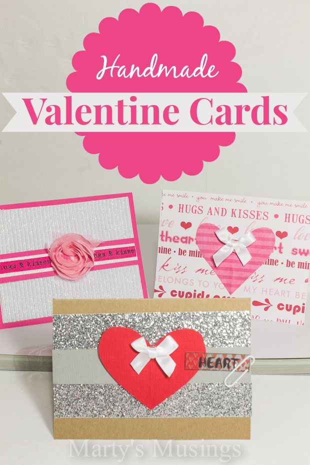 Easy Handmade Valentine Cards Includes Step By Step Video Holiday