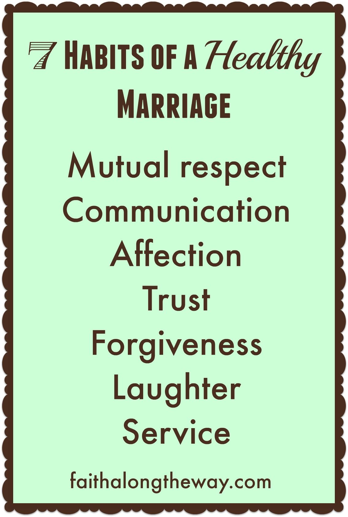 Habits Of A Healthy Marriage Jpg 1135 1687 Healthy Marriage Marriage Advice Christian Marriage