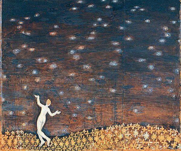 Kristjan Raud「Under the stars」(1907-09)