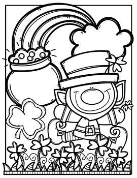 FREE St. Patrick's Day Coloring Pages {Made by Creative