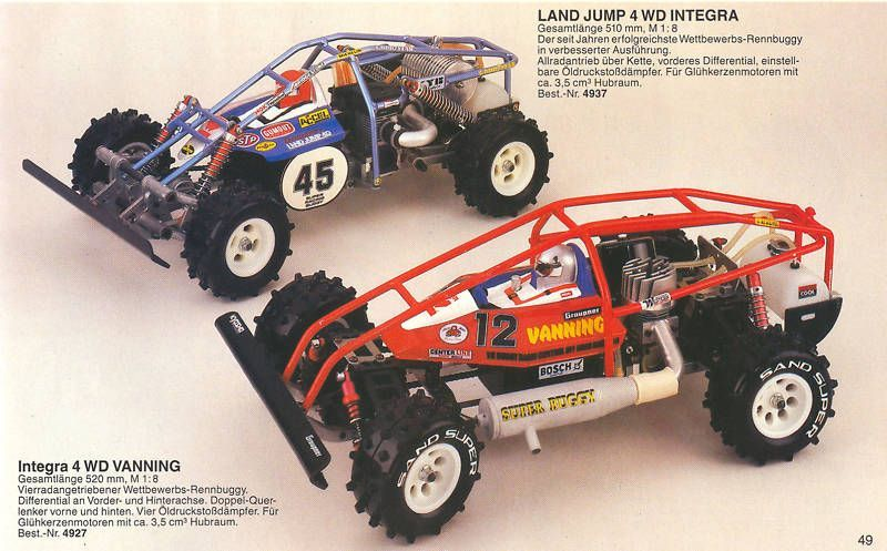 Kyosho Vanning Integra 4WD | Classic and Vintage RC Cars Kyosho Vanning  Integra 4WD | We are an internet source for classic RC car pictures and  information.