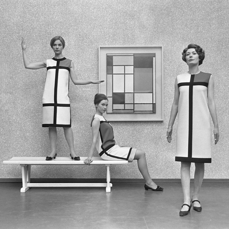 Gemeentemuseum koopt Mondriaan-jurk van Yves Saint Laurent | Gemeentemuseum