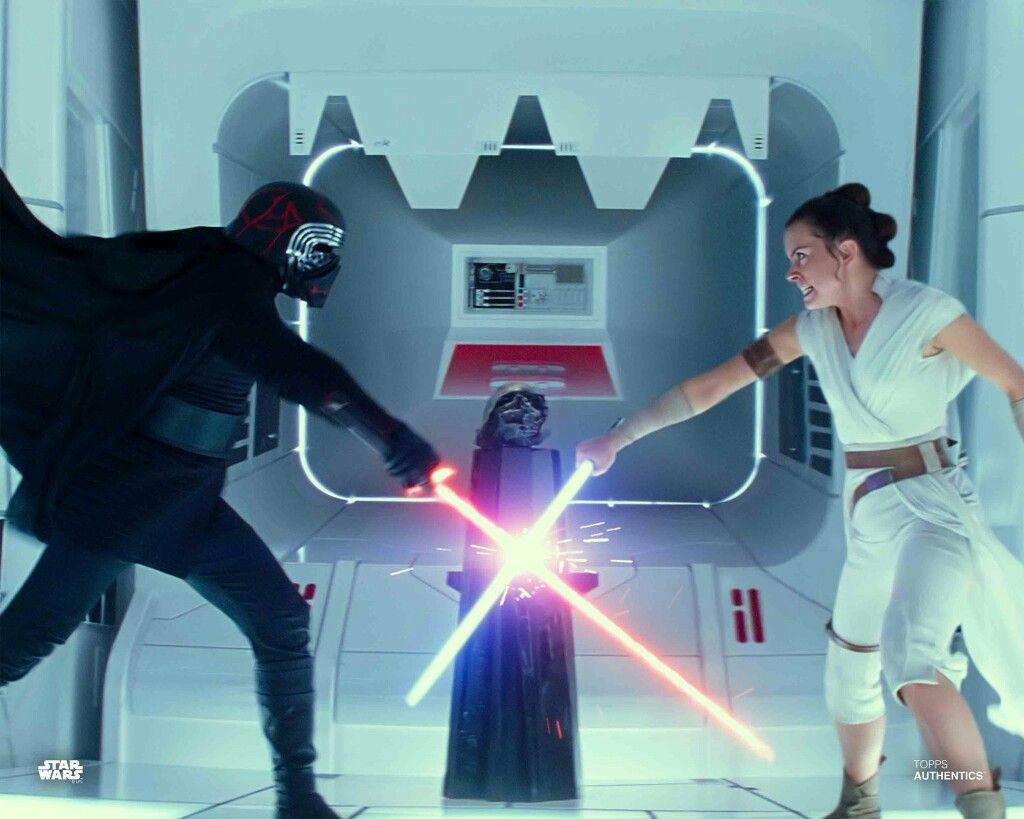 Rey Vs Kylo Epic Battle Rey Starwars Theriseofskywalker Star Wars Website Star Wars Movie Star Wars Love