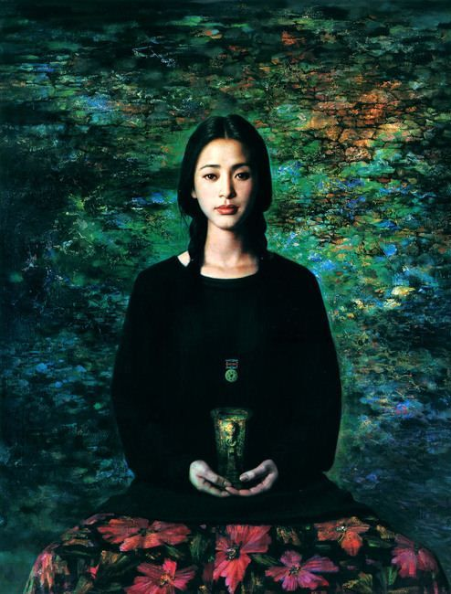 xie chuyu art | Xie Chuyu. Китайский портрет. Двенадцатый