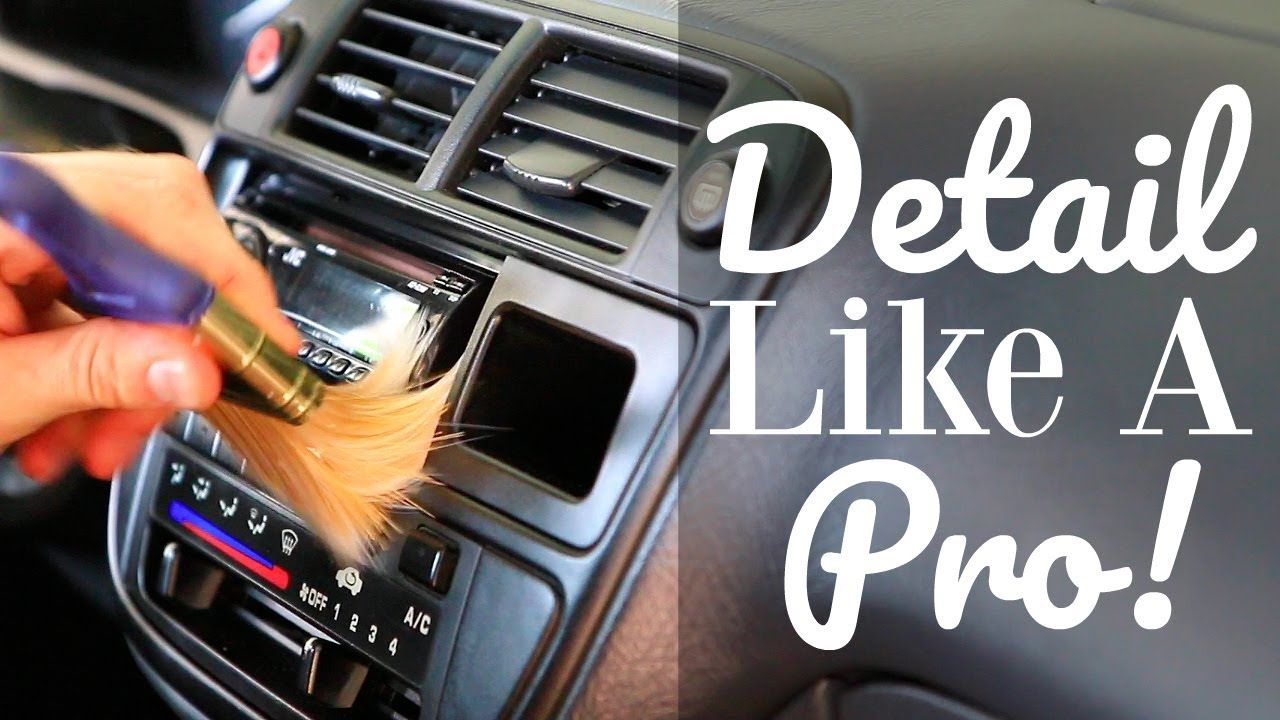 How To Clean Your Car Interior Like A Pro Using 303