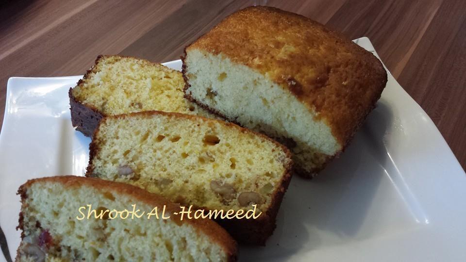 طريقة عمل كيكة البرتقال اللذيذة Recipe Cooking Recipes Arabic Food Food
