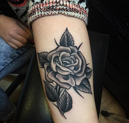 Top 25 Simple Yet, Beautiful Rose Tattoo Designs | Styles At Life