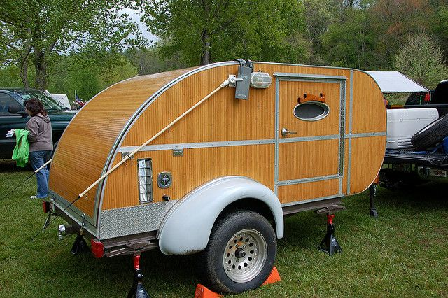 How To Build Teardrop Sleepertrailer Camper Plans - How to ...