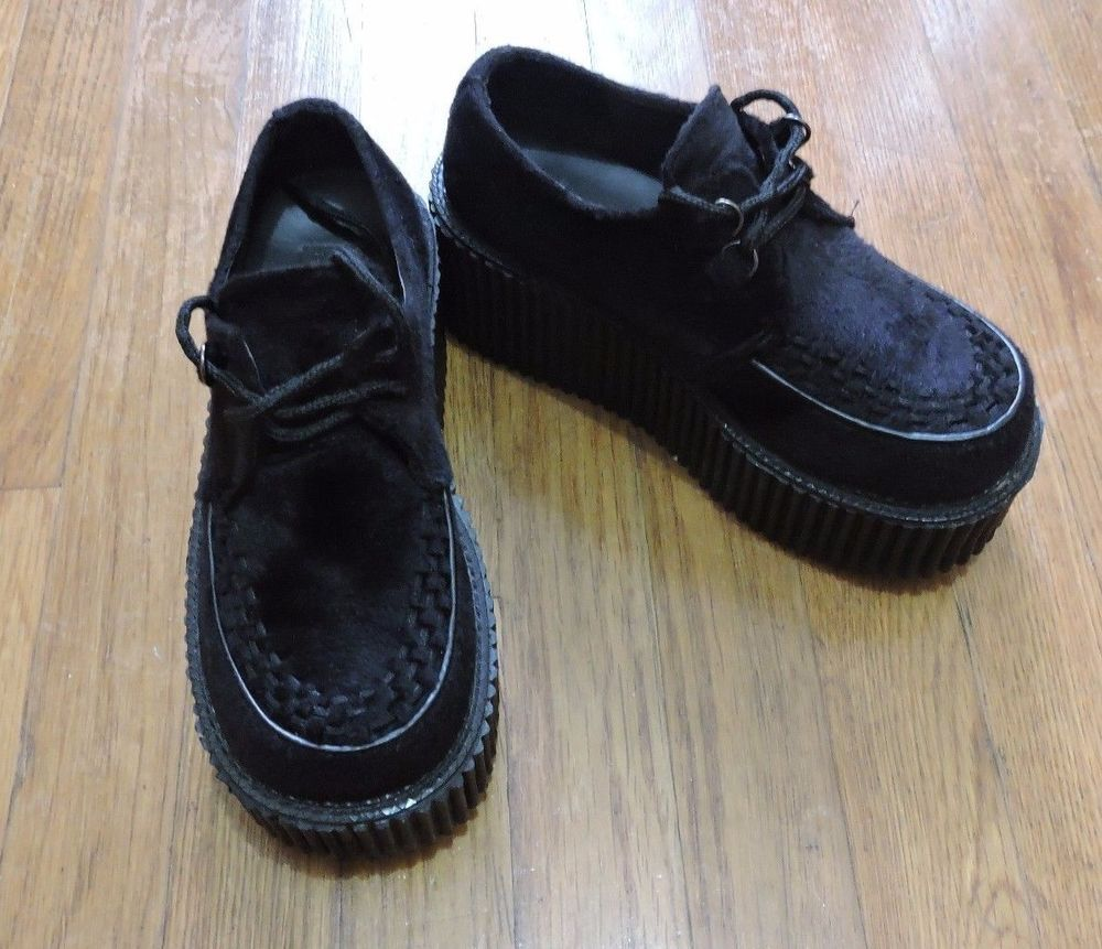 28e37c59b347f Demonia Creeper 202 Womens Platforms Size 37 in Clothing, Shoes    Accessories, Women s Shoes, Flats   Oxfords   eBay