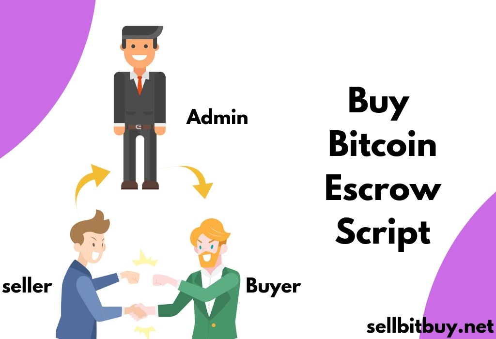 The escrow is a first concept came into the bitcoin