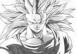 Resultado De Imagen Para Dibujos De Goku Con Sombras Desenho