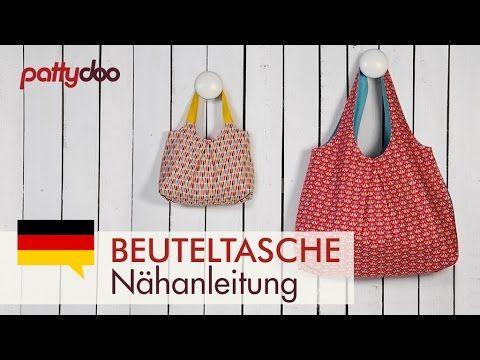 Tasche nähen - Anleitung | Nähen | Pinterest | Sewing, Sewing ...