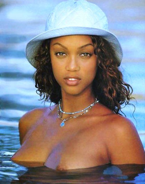 from Benjamin young tyra banks naked