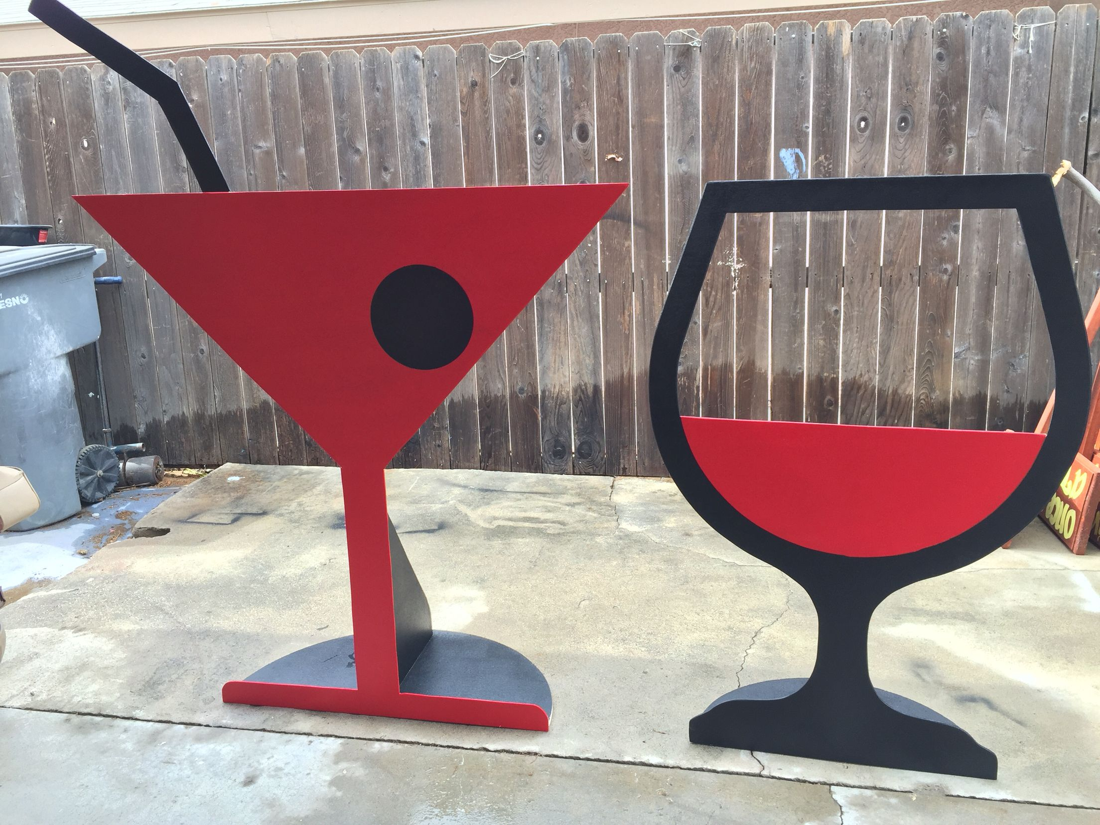 Giant Wine Glass Decorations Giant Bar Glasses Wine Glass Photo Booth Prop Giant