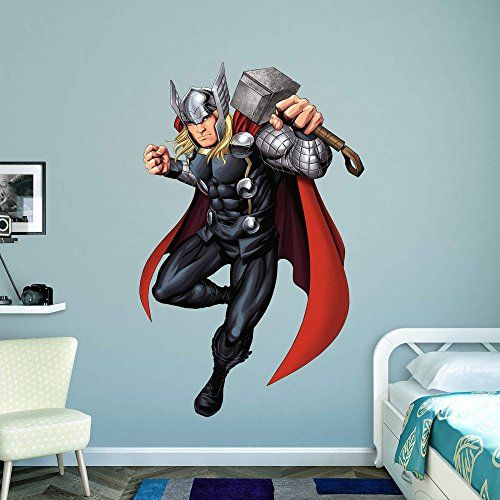 Fathead Peel And Stick Decals Marvel Avengers Assemble Thor 2015 Realbig Collection Wall Decal Read More Reviews Of The Product By Visiting The Link On The