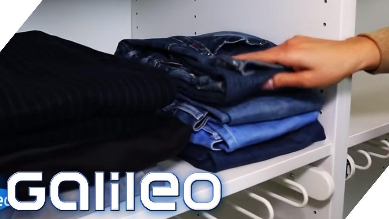 Platz Schaffen Im Kleiderschrank Kleiderschrank Platzsparend Kleidung Schrank Platz Sparen