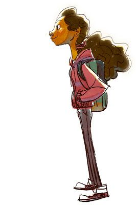 The Art Of Bobby Pontillas Character Design Girl Character