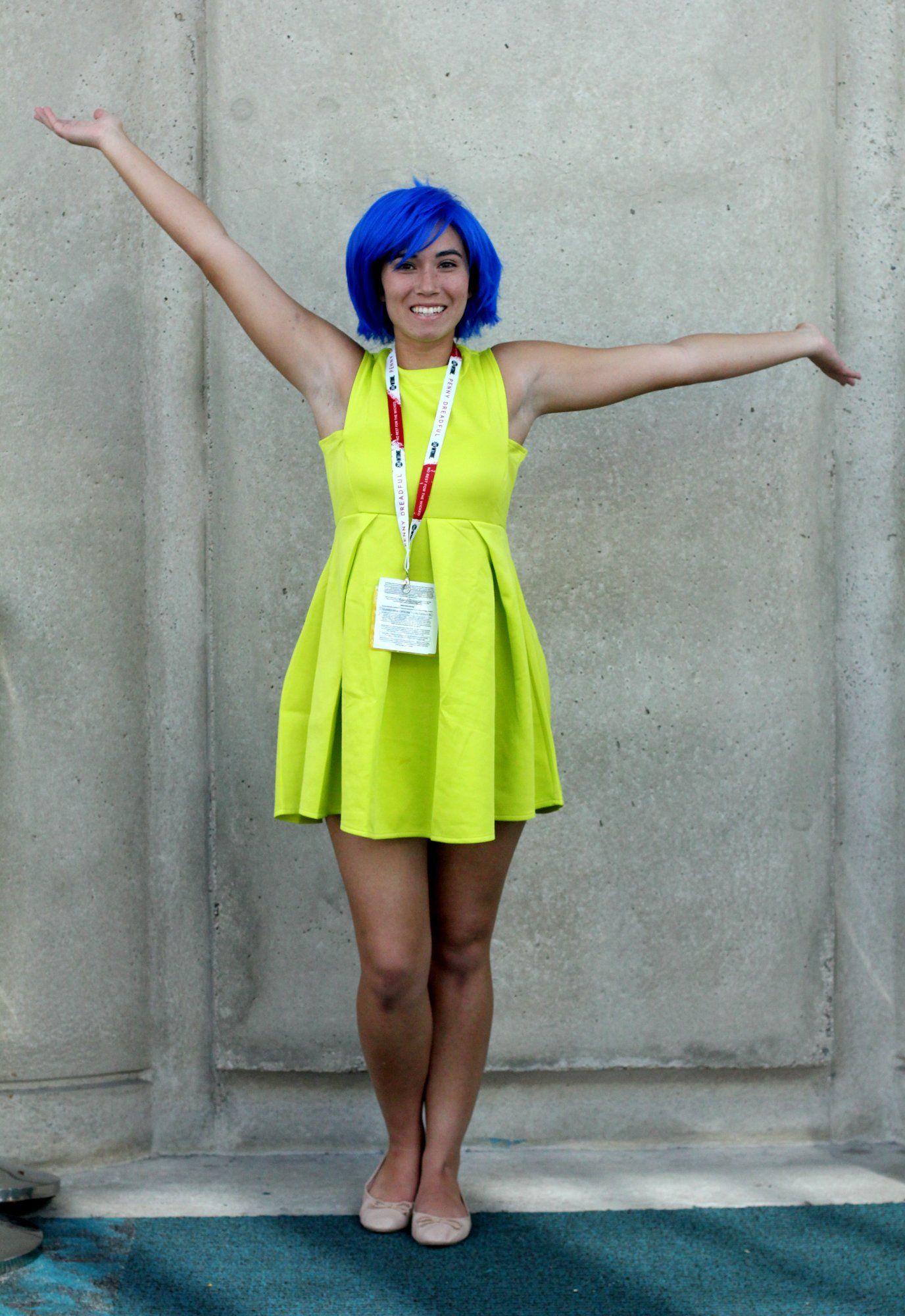 Joy Joy costume, Disney costumes for women, Joy inside
