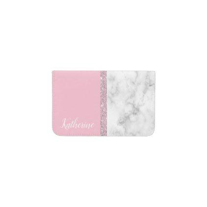 Elegant girly rose gold glitter white marble pink business card elegant girly rose gold glitter white marble pink business card holder rose gold glitter and gold glitter colourmoves