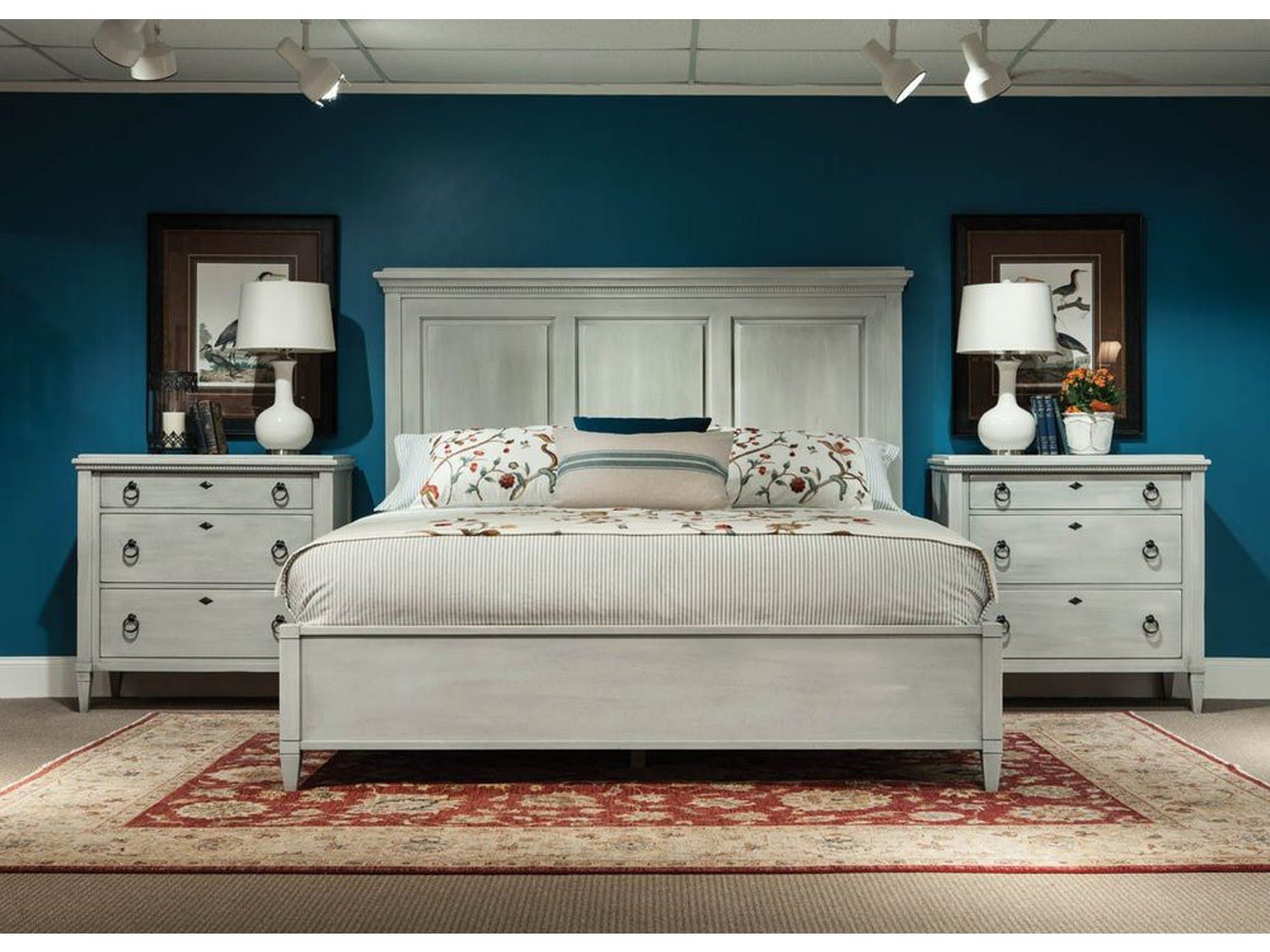 Newport Cabinet King Panel Bed 145 144