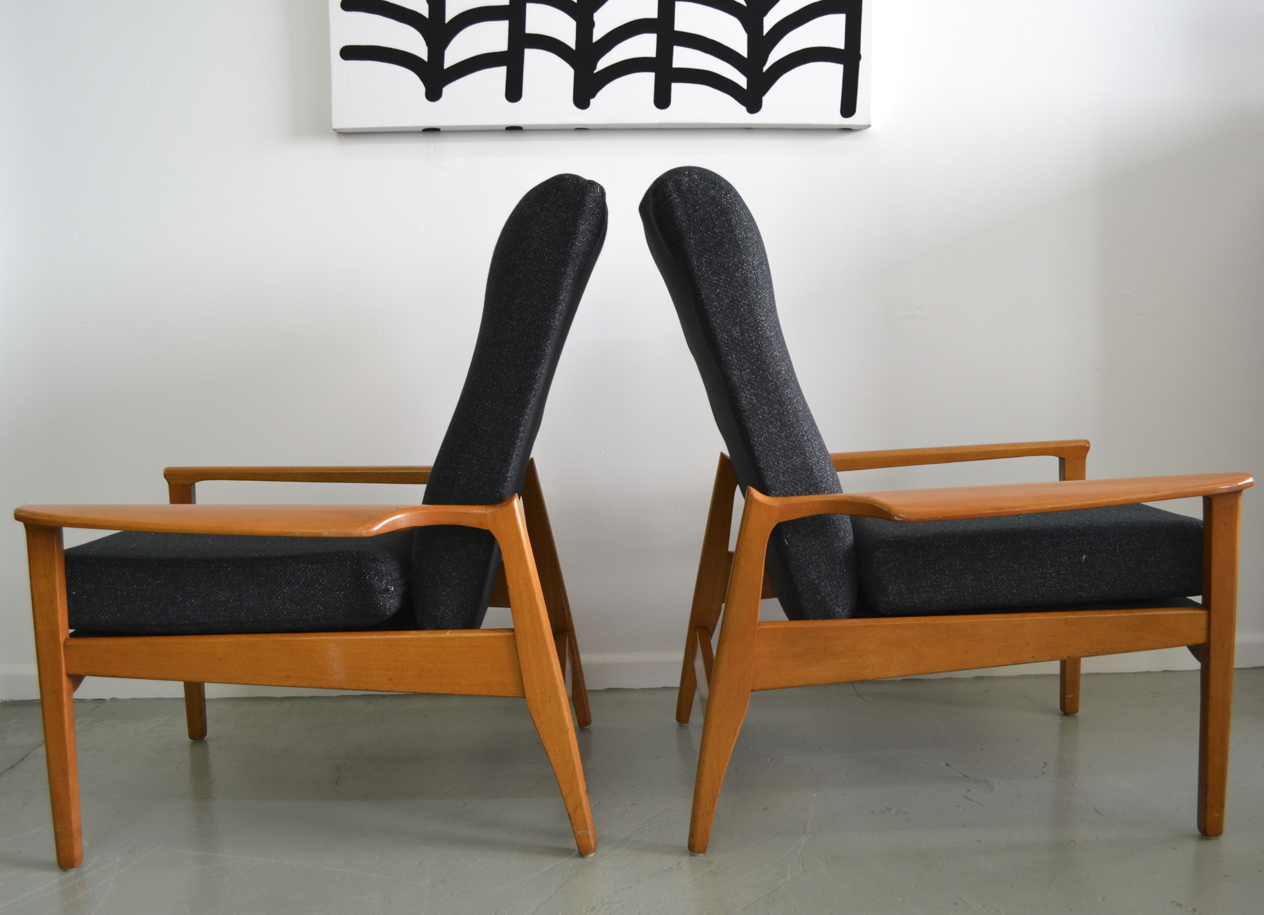 Fred Lowen Designed Fler Armchairs T Amp T Sells Mcm