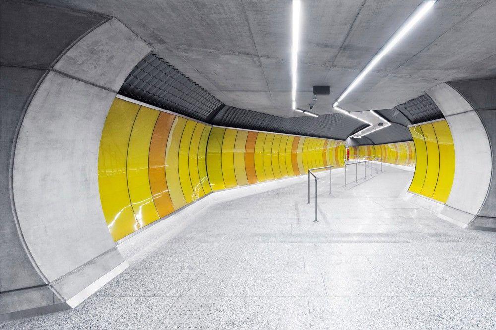 Gallery Of Budapest Underground Line M Kálvin Tér Station - Vibrant photos of international subways capture their unappreciated beauty