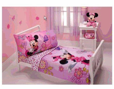 Amazon.com: Minnie Mouse - Flower Garden 4-piece Toddler ...