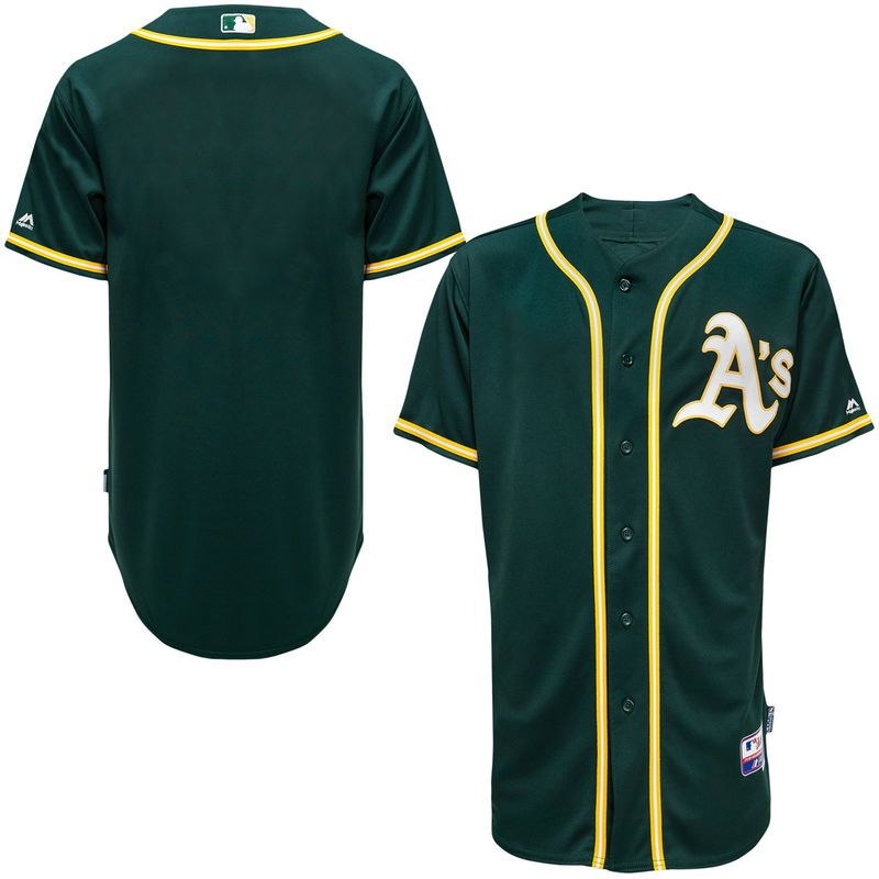 new style 49d47 124db Oakland Athletics Majestic Big & Tall Cool Base Team Jersey ...