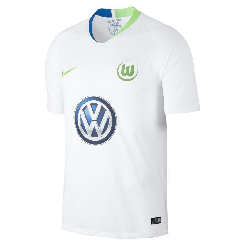 201819 VfL Wolfsburg Stadium Away Men's Football Shirt in