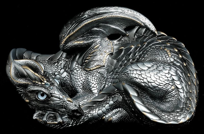 Silver - Limited Production - Windstone Editions 'Mother Dragon' sculpt