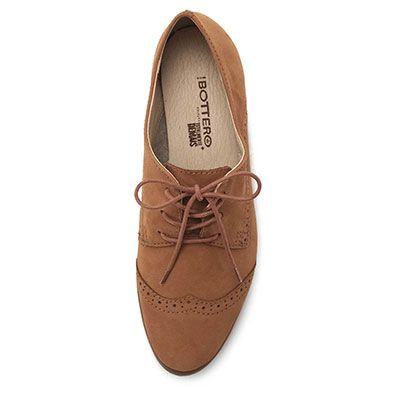 fae96b4445 Sapato Oxford Feminino Bottero Totalmente Demais - Caramelo ...
