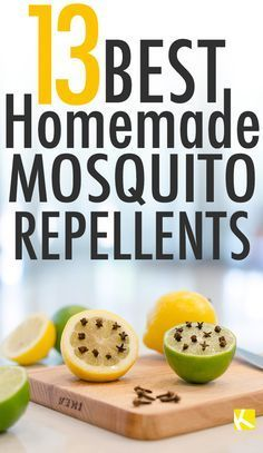 13 Best Homemade Mosquito Repellents #mosquitoplants
