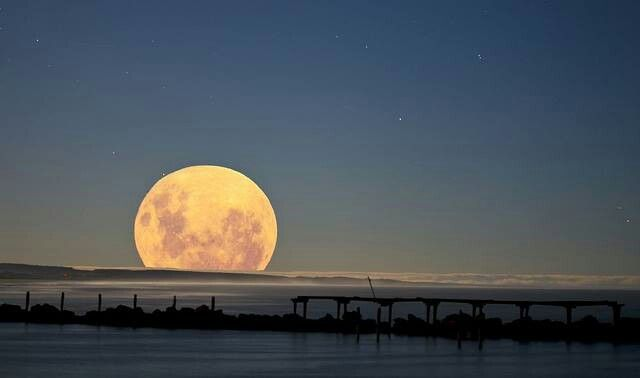 Supermoon in Australia