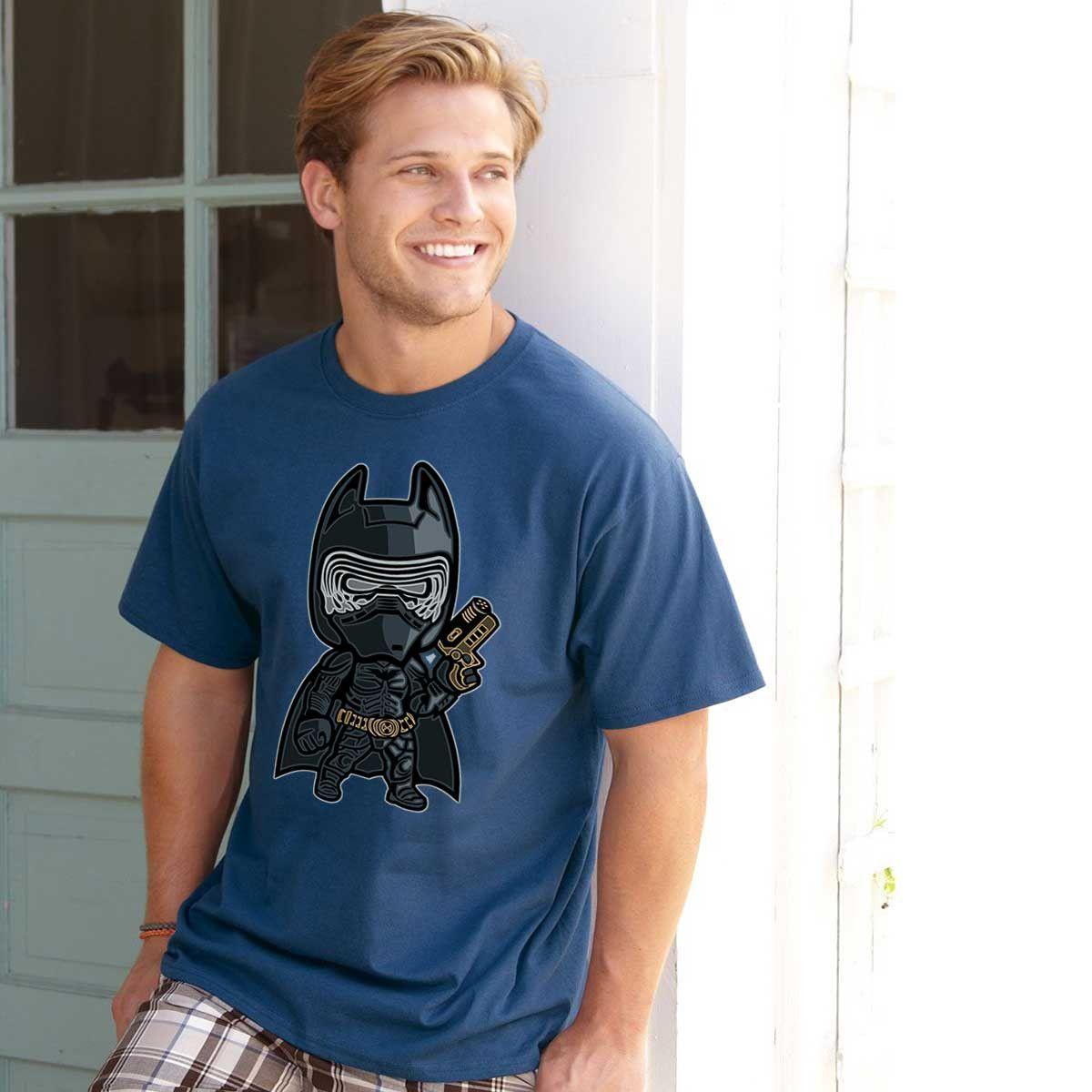 BatRen - Batman crossed with Kylo Ren T-shirt