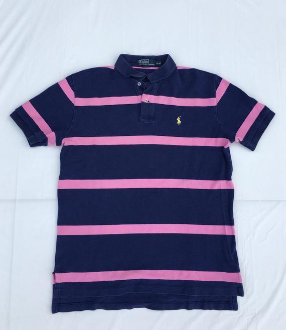 d21bc1cc83bec 1990s Vintage Ralph Lauren Polo Rugby Polo Shirt - 90s Ralph Lauren ...