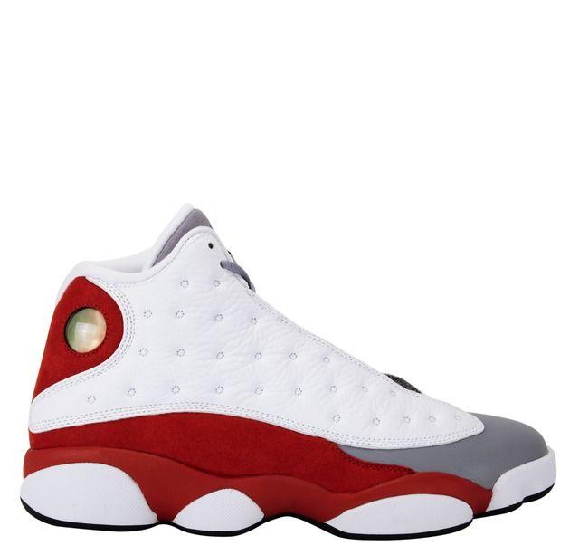 reputable site be78e d44ad Air Jordan 13 Retro - White Black True Red Cement Grey ...