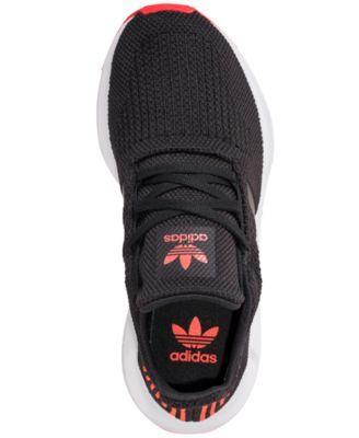 86bfb38de adidas Boys  Swift Run Running Sneakers from Finish Line - Black 6.5 ...
