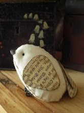 The Best Free Crafts Articles: Wee Bird Tutorial By Karen Bailey of Todolwen Blog
