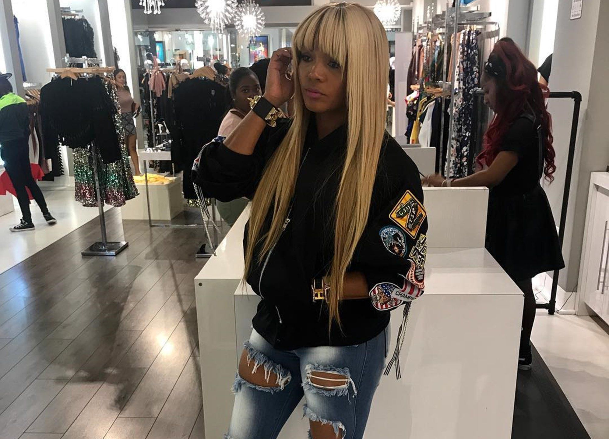 Rasheeda Frost Debuts New Stunning Blonde Hairdo — Is This For Kirk?