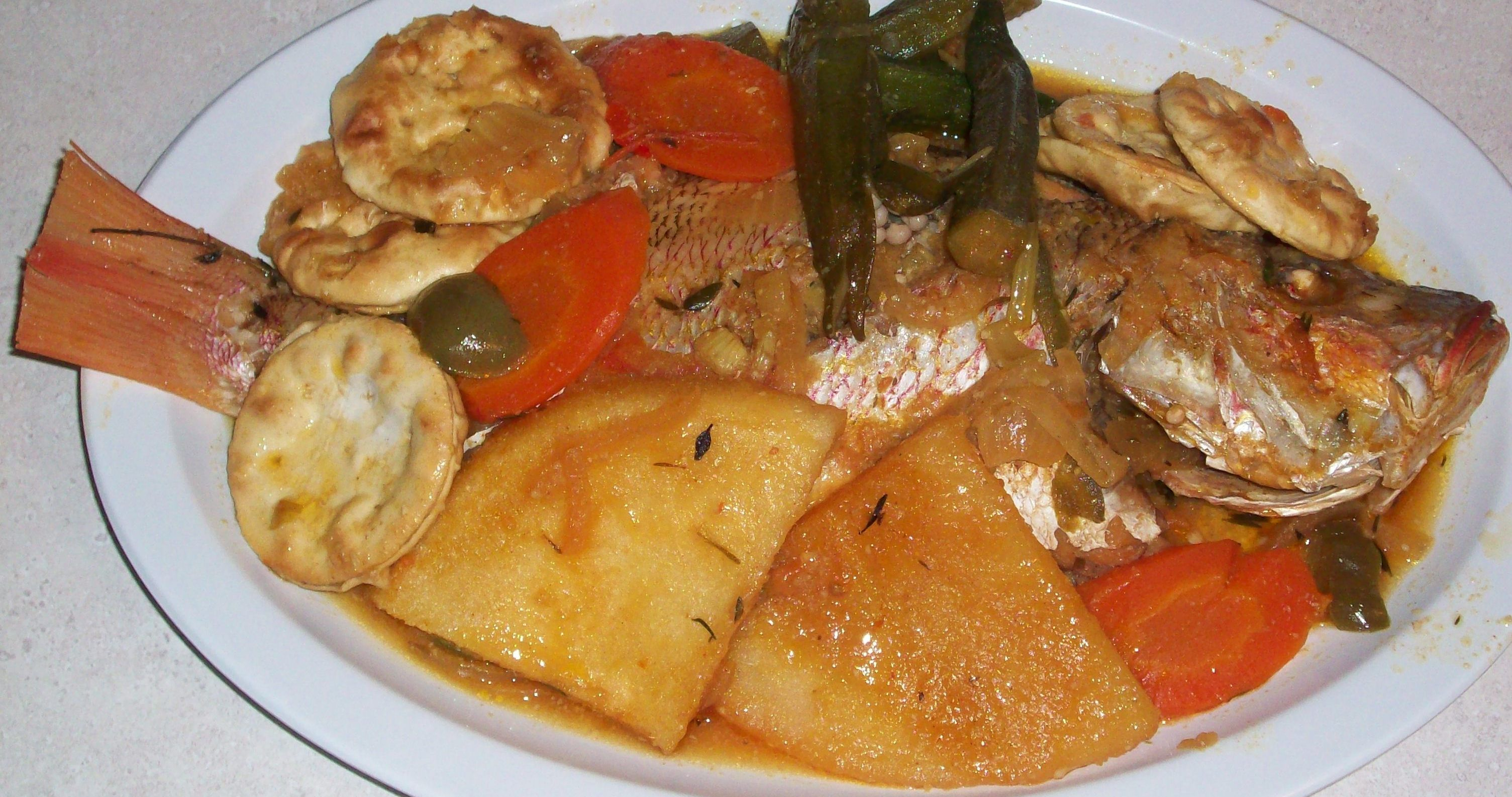 Jamaican food by kaewil on pinterest fried dumplings for Jamaica fish market