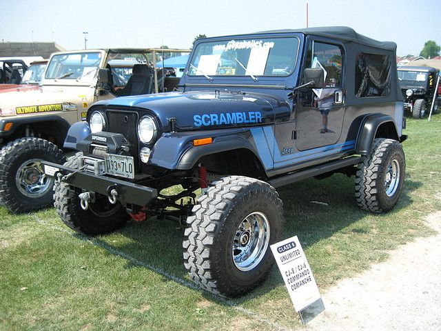 Jeep Scrambler Cj 8