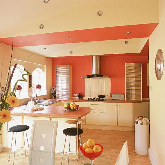 Image Detail For  Unique Frech Ideas Open Plan Kitchen Dinner Room Designs