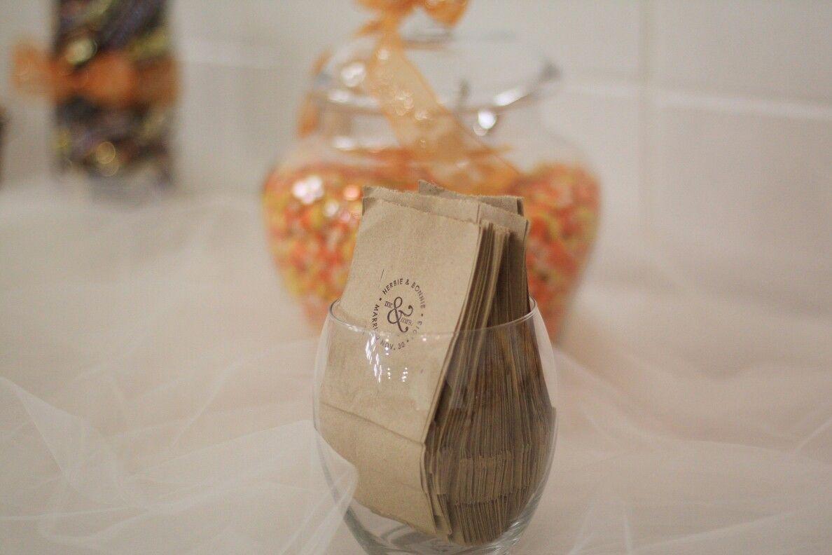 Candy buffet bags