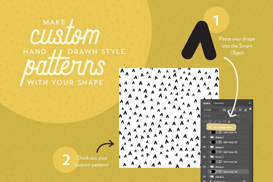Ad Random Pattern Generator By Anugraha Design On Creativemarket