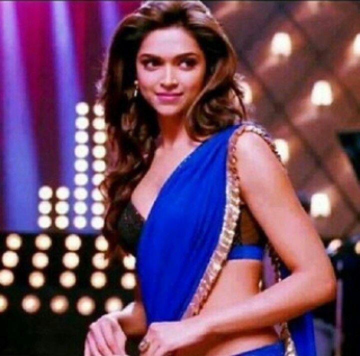Deepika Padukone In Badtameez Dil Yeh Jawaani Hai Deewani Yjhd Bollywood Celebrities Indian Bridal Wear Elegant Saree