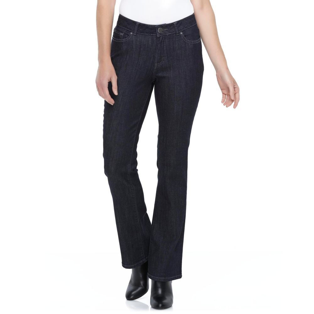 2f487638 LEE Womens Curvy Fit Bootcut Jeans stretch No gap waistband size 18 NEW  19.99 http: