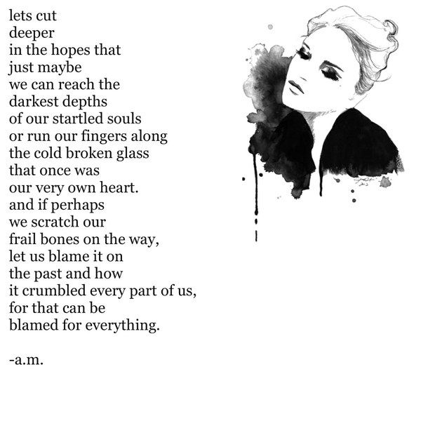 Emo Quotes About Suicide: Depression And Self Harm Poems - Google Search